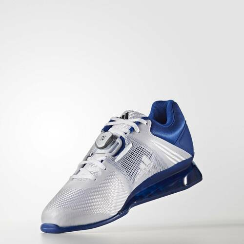 Adidas Leistung 16 II Royal Blue Weightlifting Shoe (BA9172) www.battleboxuk.com