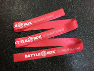 "BattleBox UK™ 2"" Muscle Floss Mobility Band Heavy Red 7ft - www.BattleBoxUk.com"