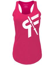 ROKFIT WOMEN Hot Pink Tank - www.BattleBoxUk.com