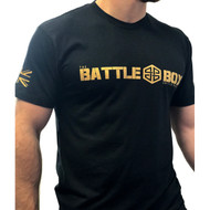 BattleBox UK™ Black & Gold Tee  - www.BattleBoxUk.com