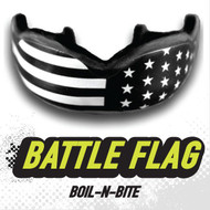 DAMAGE CONTROL Battle Flag HIGH IMPACT MOUTHGUARD - www.BattleBoxUk.com