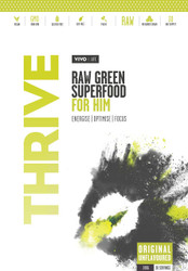 Vivo Life THRIVE HIM Raw Greens Superfood Energise Optimise Focus Paleo