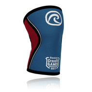 REHBAND RX KNEE SUPPORT 5MM, LIMITED EDITION  2017 REEBOK CROSSFIT GAMES BLUE RED www.battleboxuk.com
