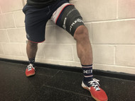 "BattleBox UK™ Extra Wide 4"" Muscle Floss Mobility Band Black 7ft - www.battleboxuk.com"