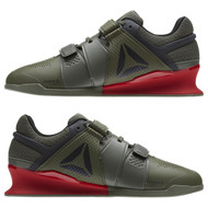 Reebok Legacy Weightlifting Lifter Hunter Green/Coal/Primal Red/Chalk (BS8216) www.battleboxuk.com