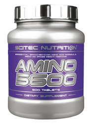 CrossTrainingUK - Scitec Nutrition AMINO 5600 Essential, Branched-Chain Amino Acid  500TAB
