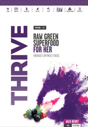 Vivo Life THRIVE HER Raw Greens Superfood Energise Optimise Focus Paleo