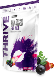 Vivo Life THRIVE HER Raw Greens Superfood Energise Optimise Focus Paleo www.battleboxuk.com