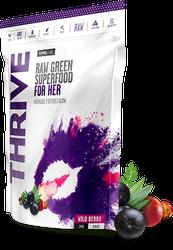 Vivo Life THRIVE HER Raw Greens Superfood Energise Optimise Focus Paleo www.battleboxuk.com