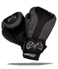Rival Boxing RB10-d3o™ INTELI-SHOCK Boxing Bag Gloves Black/Grey