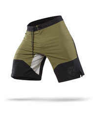 CrossTrainingUK - Reebok CrossFit 74 Cordura® Board Short Green/Black