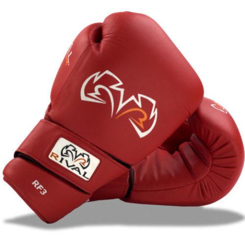 Rival Boxing RF3 Fighting Training Gloves Red www.battleboxuk.com