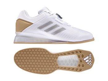 best service 12e01 f5dde Adidas Weightlifting Leistung.16 II White Shoes CQ1771 www.BattleBoxUk.com