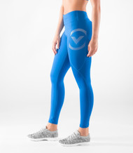 VIRUS WOMEN'S STAY COOL COMPRESSION PANT (ERX7)- ELECTRIC BLUE WWW.BATTLEBOXUK.COM