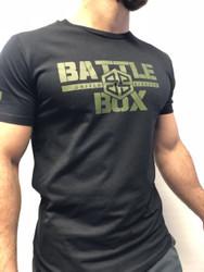 BattleBox UK™ WOD TAINING TEE | ARMY | BLACK