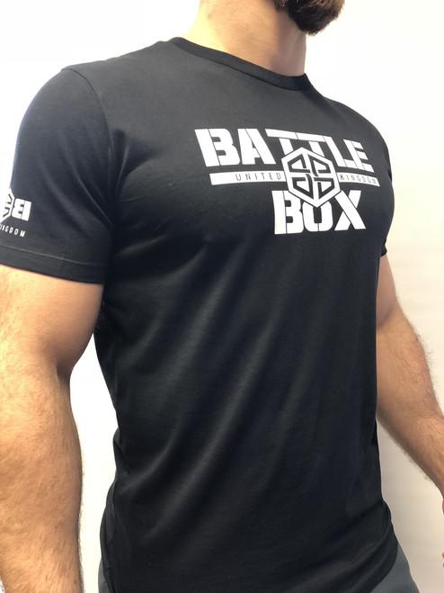 BattleBox UK™ WOD TAINING TEE | WHITE | BLACK