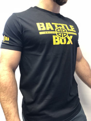 BattleBox UK™ WOD TAINING TEE | YELLOW | BLACK