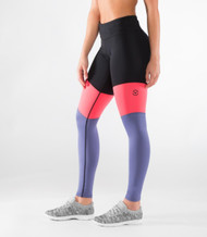 VIRUS | ECO41 | STAY COOL TRI-COLOR COMPRESSION PANT | Black Indigo