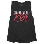 ROKFIT STRONG WOMEN ROK Women Tank T-shirt  - www.BattleBoxUk.com