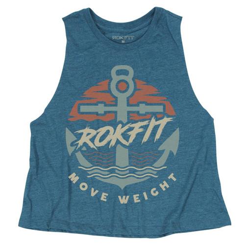 ROKFIT MOVE WEIGHT Women Tank T-shirt - www.BattleBoxUk.com