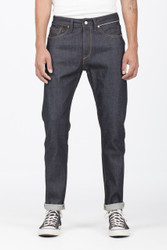 BENZAK DENIM | B-03 TAPERED 13 oz.| Candiani Dark Indigo Selvedge