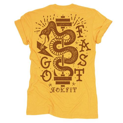 RokFit   Go Fast   Women's Tee - www.BattleBoxUk.com