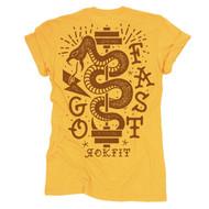 RokFit | Go Fast | Women's Tee - www.BattleBoxUk.com