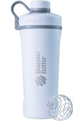 BLENDER BOTTLE® | RADIAN™ INSULATED STAINLESS STEEL | WHITE WWW.BATTLEBOXUK.COM