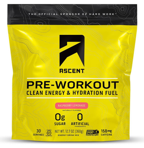 Ascent Pre Workout Clean Energy and Hydration Fuel 360g