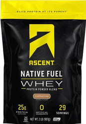 Ascent Native Fuel Whey Protein Powder 2lbs / 908g www.battleboxuk.com