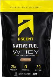 Ascent Native Fuel Whey Protein Powder 2lbs / 908g www.battleboxuk.com