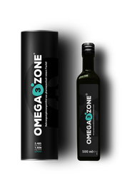 Omega3Zone - 500ml Omega 3 Liquid Fish Oil Lemon Flavor Extra Strong (Omega3Zone500ml) - www.BattleBoxUk.com