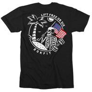 RokFit   LIFT FREE OR DIE   Men's T-Shirt WWW.BATTLEBOXUK.COM