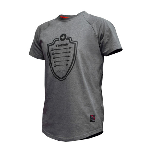 WWW.BATTLEBOXUK.COM THORN+FIT | T-SHIRT ARROW GRAY