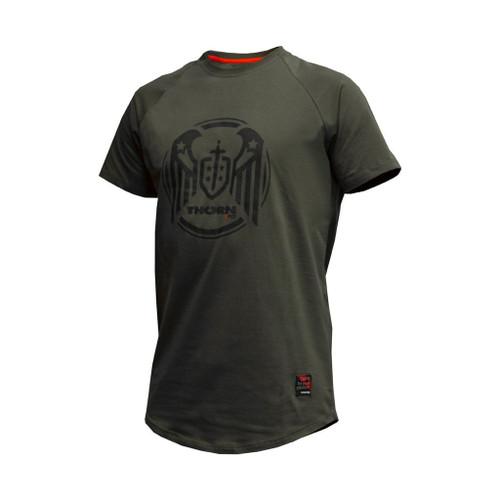 WWW.BATTLEBOXUK.COM THORN+FIT | T-SHIRT WINGS ARMY GREEN