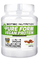 SCITEC NUTRITION PURE FORM VEGAN PROTEIN 460G