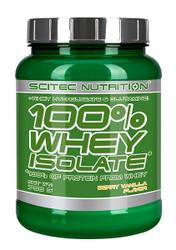 SCITEC NUTRITION 100% WHEY ISOLATE PROTEIN 700G