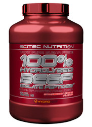 SCITEC NUTRITION 100% HYDROLYZED BEEF ISOLATE PEPTIDES* PROTEIN 1800G