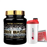 Scitec Nutrition Big Bang 825g Orange Mega Strong Pre-Workout Stimulant