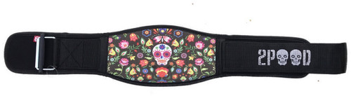 2POOD | Sugar Skulls Metcon Training Belt(w/WODclamp®) www.battleboxuk.com