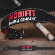 ModiFit | Weight Lifting Belt | Black Olympic Weightlifting Style