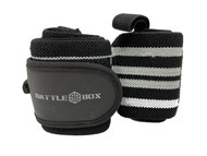 "BattleBox UK™24"" Weight Lifting Wrist Wraps  - www.BattleBoxUk,com"