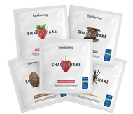FOODSPRING SHAPE SHAKE | TO GO 5 PACK | GRASS FED PROTEIN |5 X 30G WWW.BATTLEBOXUK.COM