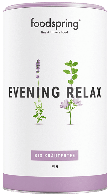 FOODSPRING | FUNCTIONAL ORGANIC TEA | EVENING RELAX WWW.BATTLEBOXUK.COM