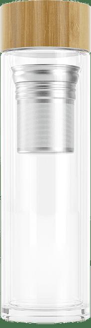 FOODSPRING TEA GLASS BOTTLE WWW.BATTLEBOXUK.COM