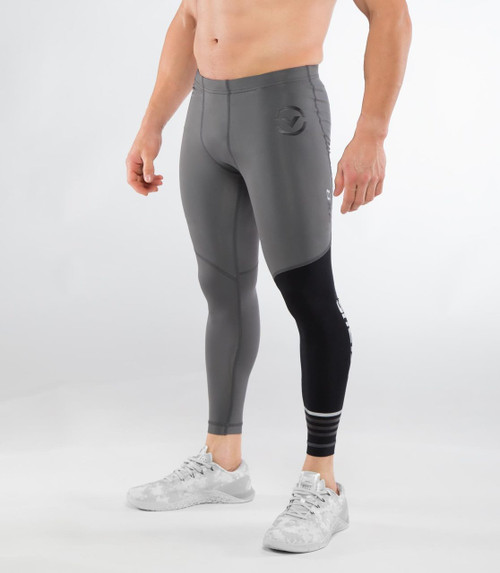 VIRUS | RX8 | STAY COOL COMPRESSION PANTS | STEALTH WWW.BATTLEBOXUK.COM