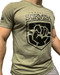 CrossFit Skirmish T-shirt Heather Olive Black - www.BattleBoxUk.com