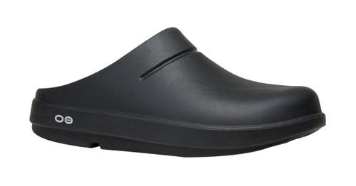 OOFOS MEN'S OOCLOOG BLACK Recovery Footwear Slide In Flip Flop Sandal www.BattleBoxUk.com