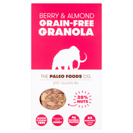 THE PALEO FOODS CO | BERRY & ALMOND GRAIN-FREE GRANOLA | 300g www.battleboxuk.com