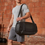 HYLETE | Icon Duffle 28L | Black/Stealth Black www.battleboxuk.com
